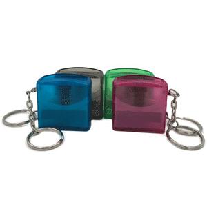 Flash stamp keychain