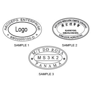 Imprint Oval 3555